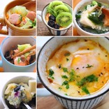 【簡単レンチン】きのこ雑炊からプリン、ミートローフができちゃうマグカップレシピ