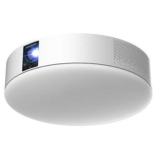popIn Aladdin 2 ポップインアラジン 公式ストア限定 2年間保証付き 天井 照明 プロジェクター フルHD 家庭用 テレビ 映画 ホームシアター スピーカー 短焦点 スマホ対応 壁掛け