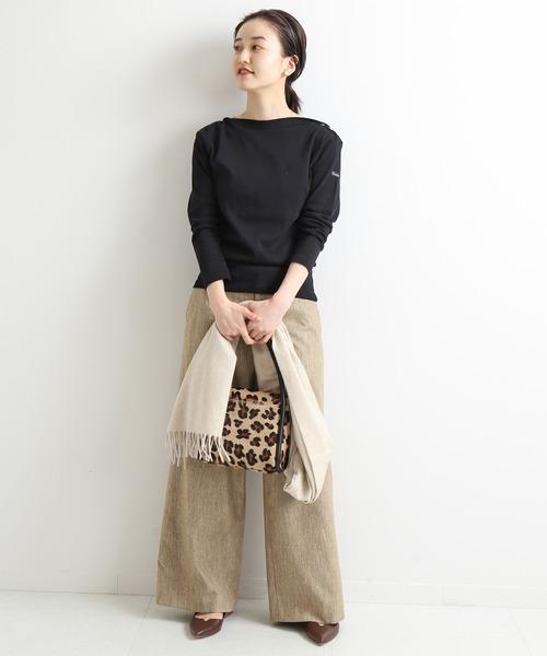[IENA] Sustina Tweed パンツ◆