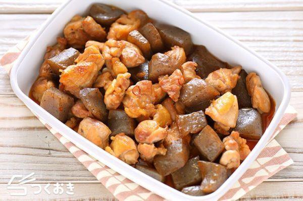 鶏肉とこんにゃくの炒り煮