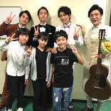 中村蒼、『エール』最終回に感謝…窪田正孝らと集合写真