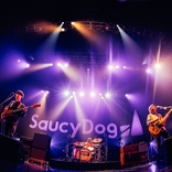 Saucy Dog、ワンマンツアーがZepp Osaka Baysideで閉幕ーー「ここから僕たちはまだまだ走り続けたい」ファイナル公演オフィシャルレポート