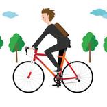 自転車通勤を始めたいけど気になること、先輩の解決方法は? - 悩み1位は経験者・未経験者ともに「悪天候時の対応」