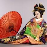 岡田結実、美しい花魁姿を初公開 来年1月期ドラマ『江戸モアゼル』で主演