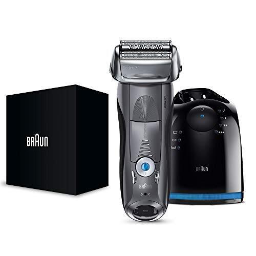 【除菌洗浄器付き】 ブラウン シリーズ7 メンズ電気シェーバー 7867cc 4カットシステム 洗浄器付 水洗い/お風呂剃り可