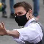 トム・クルーズが手を振る姿も! 『ミッション:インポッシブル』第7弾の撮影風景をキャッチ