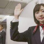 乃木坂46梅澤美波 CA役を熱演、次に挑戦したい役は「お母さん」