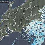 関東 沿岸部を中心に雨雲 雨いつまで