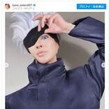 叶恭子 『呪術廻戦』五条悟のガチコスプレ ファン大興奮「素敵すぎます」