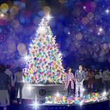 煌めく金魚のクリスマスツリーアートが登場!【アートアクアリウム美術館】