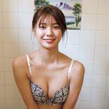 川津明日香、『週プレ』の表紙飾る フレッシュな笑顔に癒されまくり