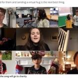 祖父母に会えない子ども達が集結 思いを綴った歌で「バーチャル・ハグ」を届ける(英)<動画あり>