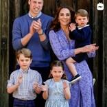ウィリアム王子夫妻のクリスマスカードに「素敵なファミリー」の声 ルイ王子のキュートな笑顔に注目集まる