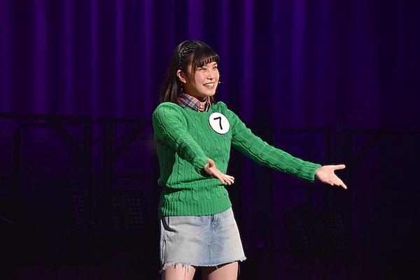 田中海咲さん  (撮影:五月女菜穂)
