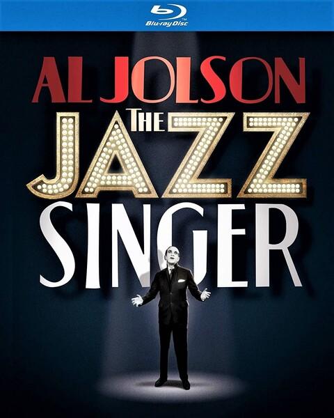 ブルーレイでリリースされた「ジャズ・シンガー」(ワーナー・ホーム・ビデオ)。Amazon Prime Videoなどでも視聴可だ。