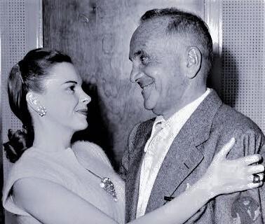 ガーランドとジョルスン(1940年代末撮影)Photo Courtesy of Scott Brogan