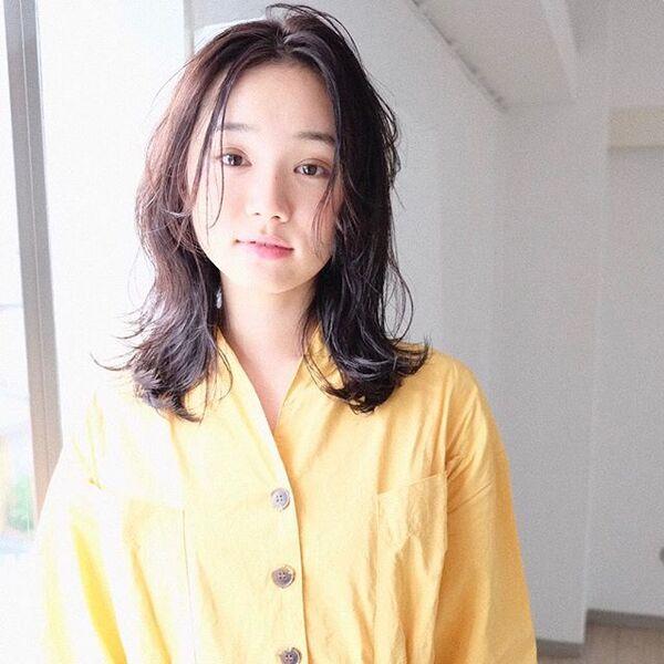 代 ミディアム ぽっちゃり 40 髪型