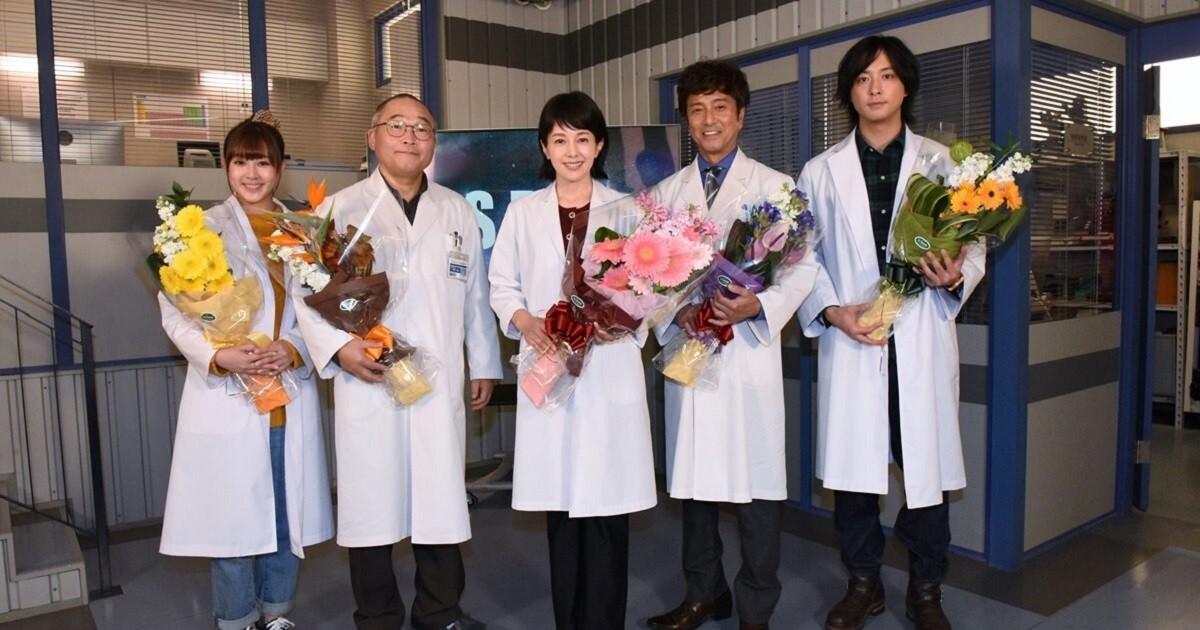 沢口靖子、『科捜研の女』撮了「あっという間に最終回」