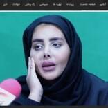 「ゾンビ化したアンジェリーナ・ジョリー」で有名になったイラン人女性、素顔で公の場に登場<動画あり>