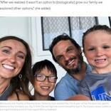 6歳息子と同じ病気の9歳男児を養子にした夫婦「これは運命。かけがえのない家族に」(米)<動画あり>