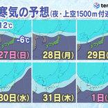 「年末年始寒波」襲来へ 日本海側は大雪・大荒れ ポイントや警戒事項