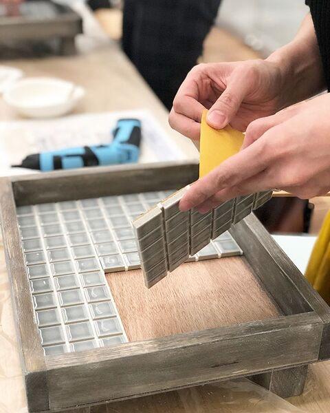 テーブル リメイク DIY8