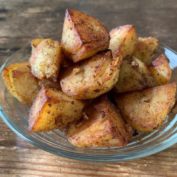 味噌鍋に合う♪アヒージョ風味のポテト