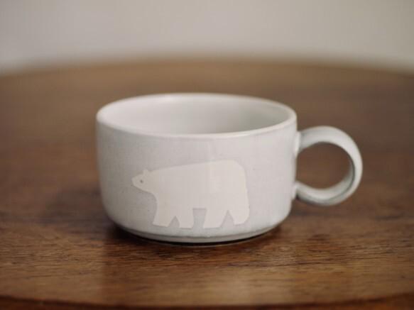 シロクマのスープカップ