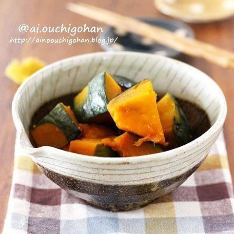 朝ごはんのビタミン源に「かぼちゃの煮物」