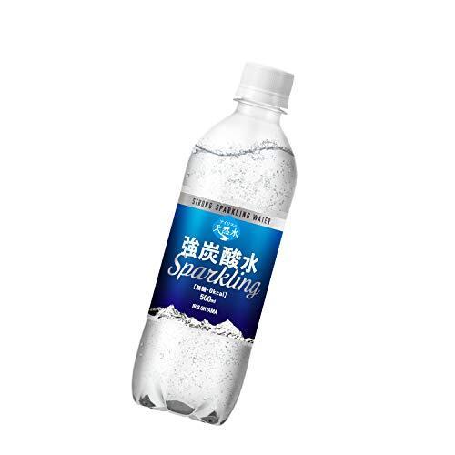 炭酸水 アイリスの天然水 強炭酸水 500ml ×24本