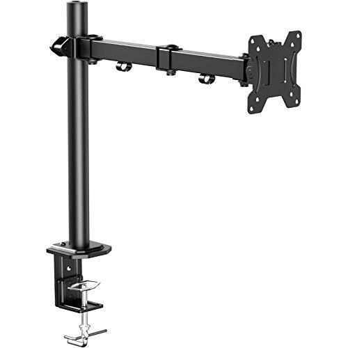 ErGear PCモニタアーム 13~32型 耐荷重8kg ディスプレイアーム VESA規格100*100 多角度調節