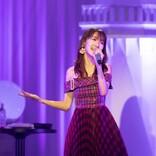 柏木由紀、初のディナーショー開催 松田聖子、今井美樹の楽曲も熱唱