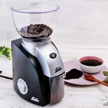 21段階粒度設定できる本格派コーヒーグラインダー『ソリススカラプラス』。コーヒー挽き立てのおいしさをおうちで!
