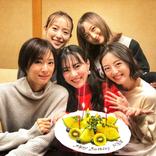 小松彩夏、セーラー戦士仲間との去年のクリスマス会写真