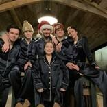 ベッカム一家、家族6人のクリスマス写真にファン称賛「パジャマ姿がカッコいい唯一のファミリー」