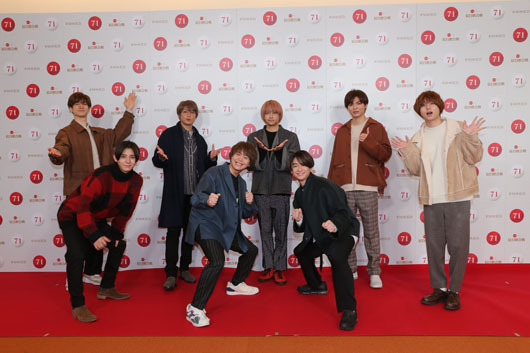 「Hey! Say! JUMP」紅白歌合戦リハーサル開催で山田涼介メドレーへ想い!「僕たちにできることは、パフォーマンスでみなさんに元気や明るさを届けること」