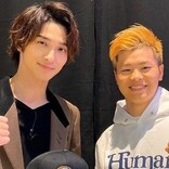 横浜流星『RIZIN』で友人・那須川天心戦を観戦 清原和博も登場