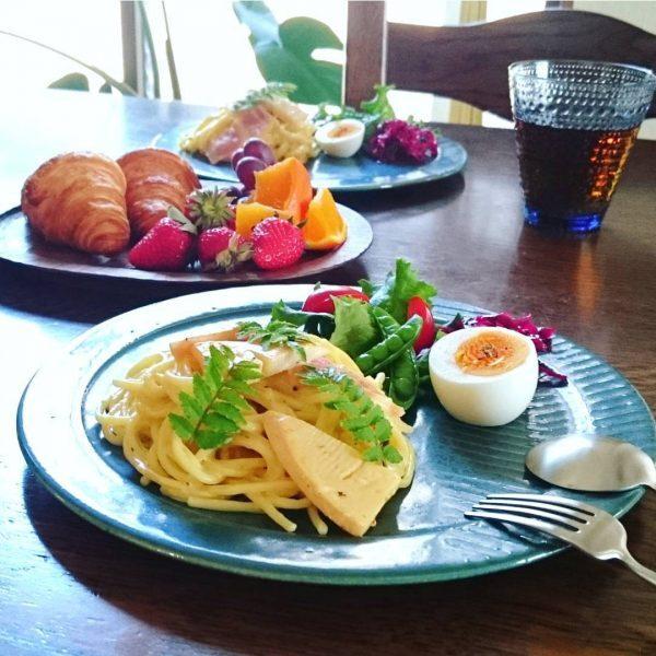 春が旬の人気食材タケノコのパスタのレシピ