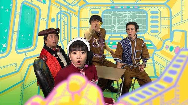 宇宙船パート (左から)諏訪雅、藤谷理子、酒井善史、永野宗典