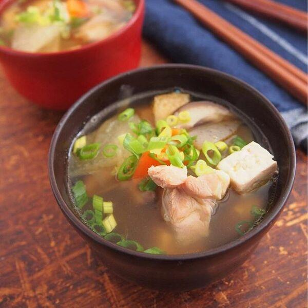 豆腐の定番汁物!けんちん汁