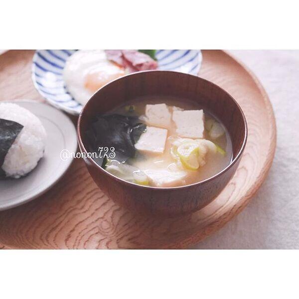 人気の豆腐メニュー!和食にお味噌汁