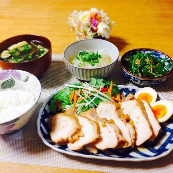 人気レシピで節約メイン料理☆鶏チャーシュー
