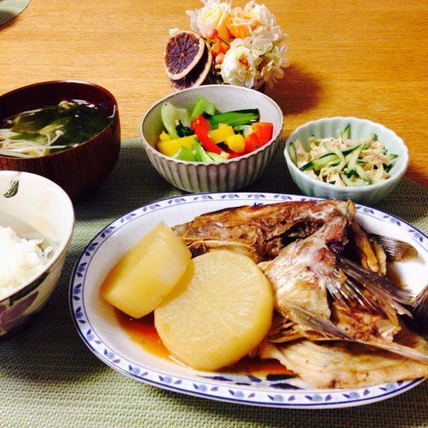 魚料理で節約するメイン料理ならアラ煮大根