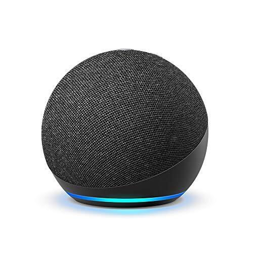 【新型】Echo Dot (エコードット) 第4世代 - スマートスピーカー with Alexa、チャコール