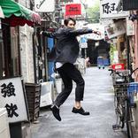 劇団EXILE 町田啓太、新年の抱負&路地でジャンプSHOT!