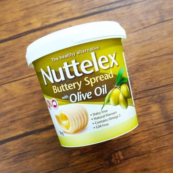 Nuttelexバター風味オリーブオイルスプレッド