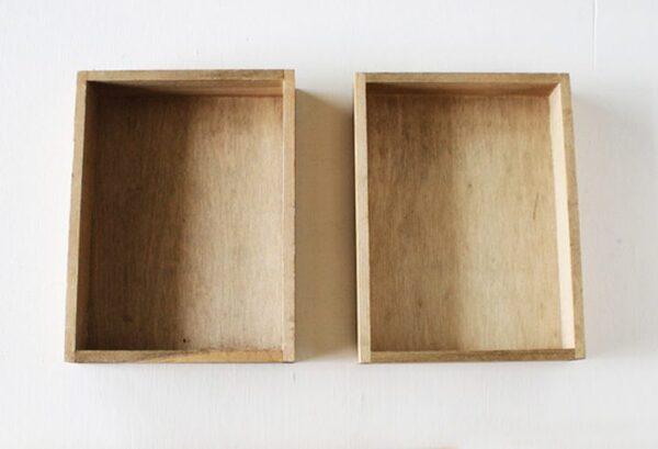 セリア「木製トレイM」