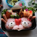 冷凍食品でもOK! 子どもが喜ぶ冬のキャラ弁レシピ