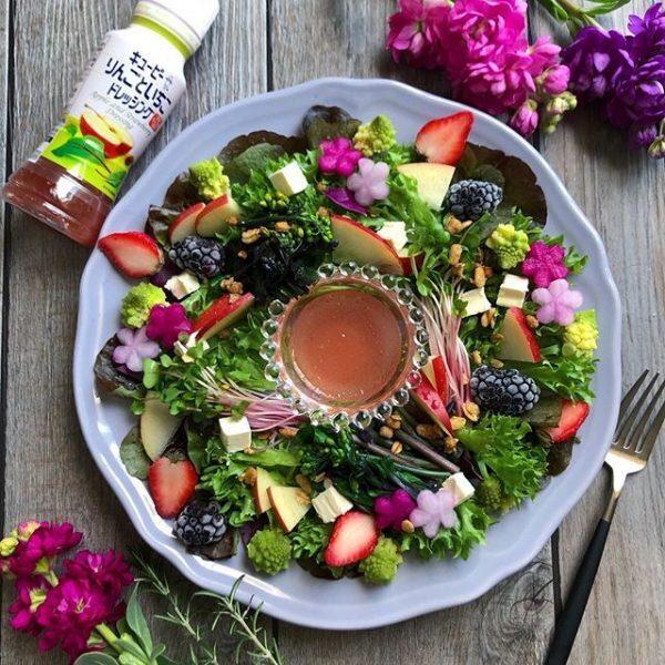 野菜たっぷりのレシピ!パワーサラダ