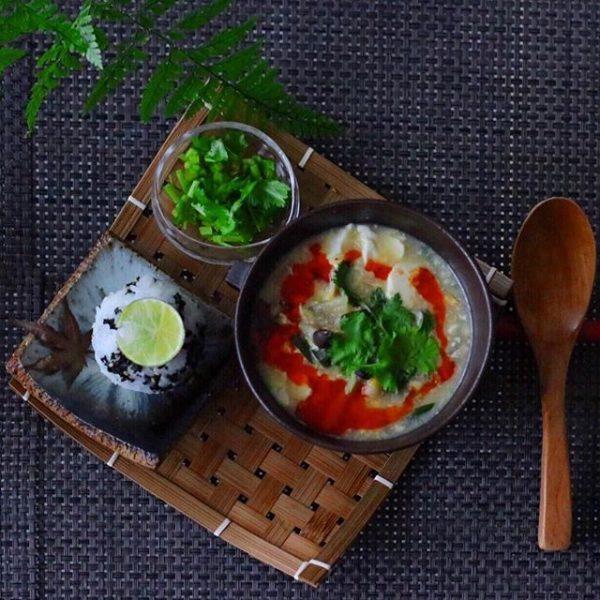 水餃子に合う!具沢山な中華スープ